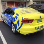Essential Money Transfer full car wrap