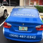 Partial Car Wrap