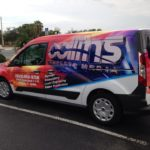 Partial car wrapping with 3M technology
